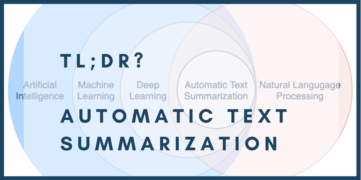 natural language processing for automatic text summarization