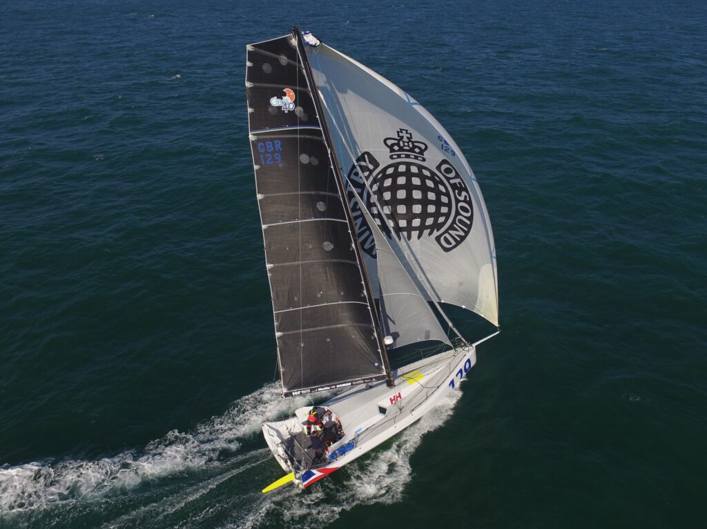 image of mos sailing boat for digital twin
