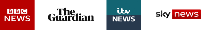 BBC News, The Guardian, ITV News, Sky News