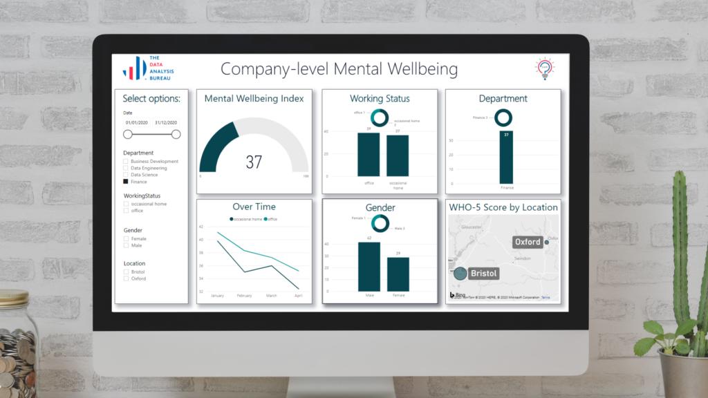 Company Level Mental Wellbeing Dashboard