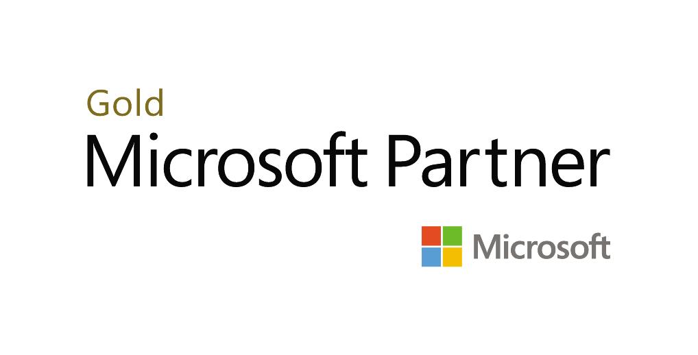 gold data analytics microsoft partner logo